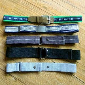 Bundle of 5 Belts